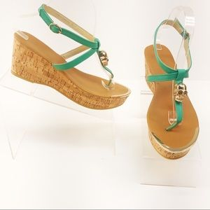 Bucco Skull Cork Wedges